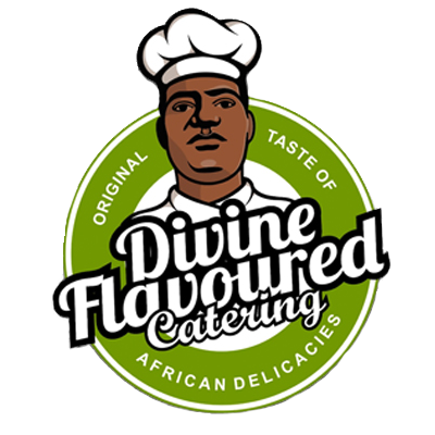 divine flavored catering logo