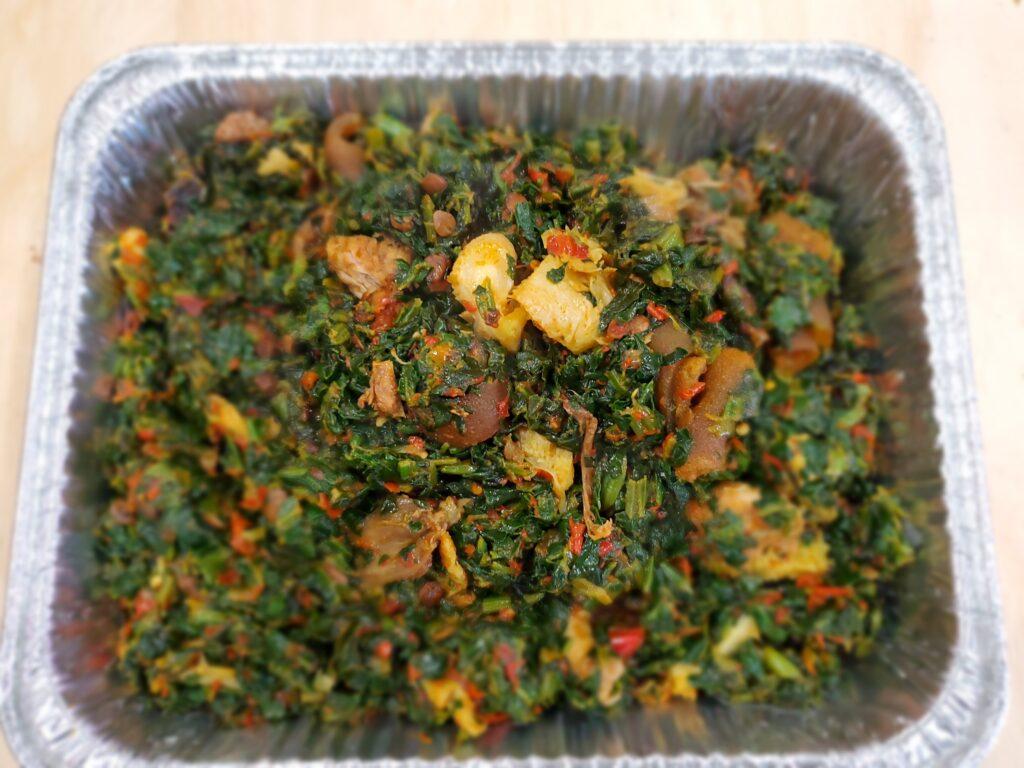 Efo Riro (Rich Spinach Stew)