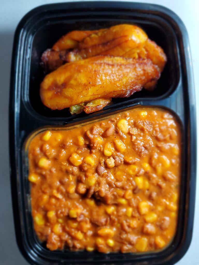 Honeybeans Sweet Corn & Plantain (Suitable for vegetarians)