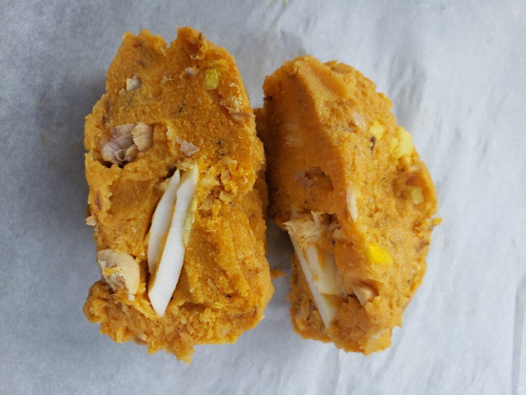 MoiMoi with Fish & Egg