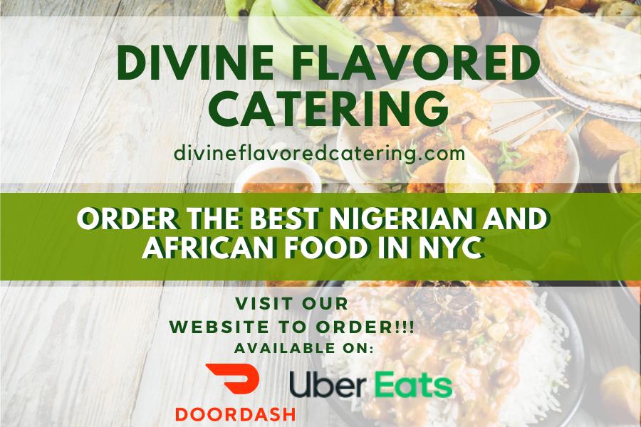 divine flavored catering doordash